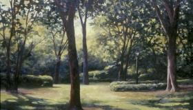 Sundown in Park