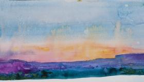 Santa Fe Sunset July 1
